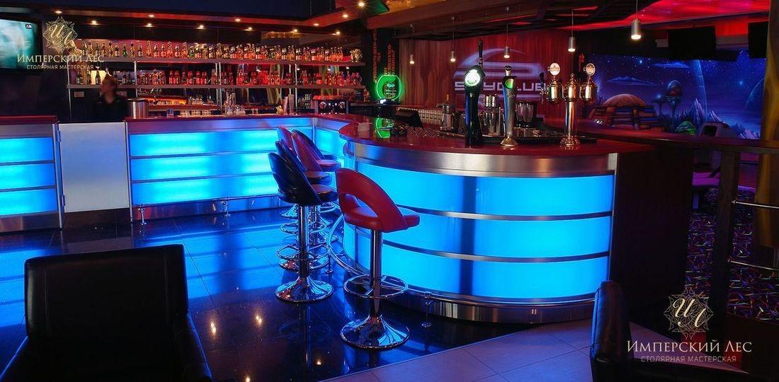 барная стойка в ТЦ Рио